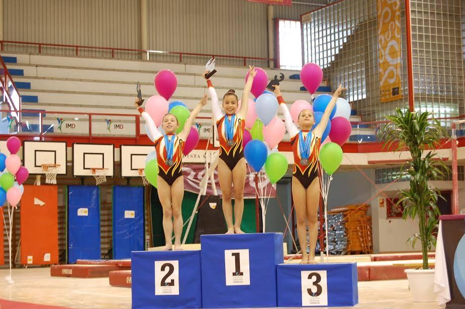 Las sevillanas del Gimnástico Sur logran 60 medallas en el campeonato de Andalucía vía Sevilla Directo